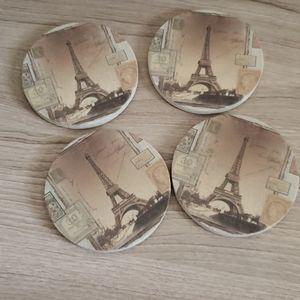 Paris Stone Coasters